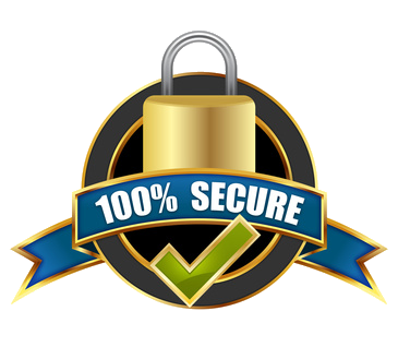 100% Secure Payments
