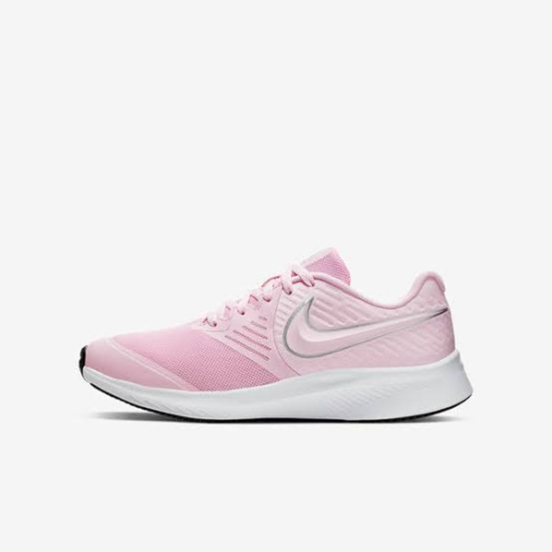 Gobernable Shinkan Puro  NIKE LADIES STAR RUNNER 2 SNEAKER PINK FOAM/METALLIC SILVER ...
